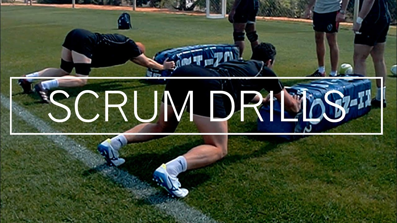 RUGBY SCRUMMAGING SESSION DRILLS AND TIPS