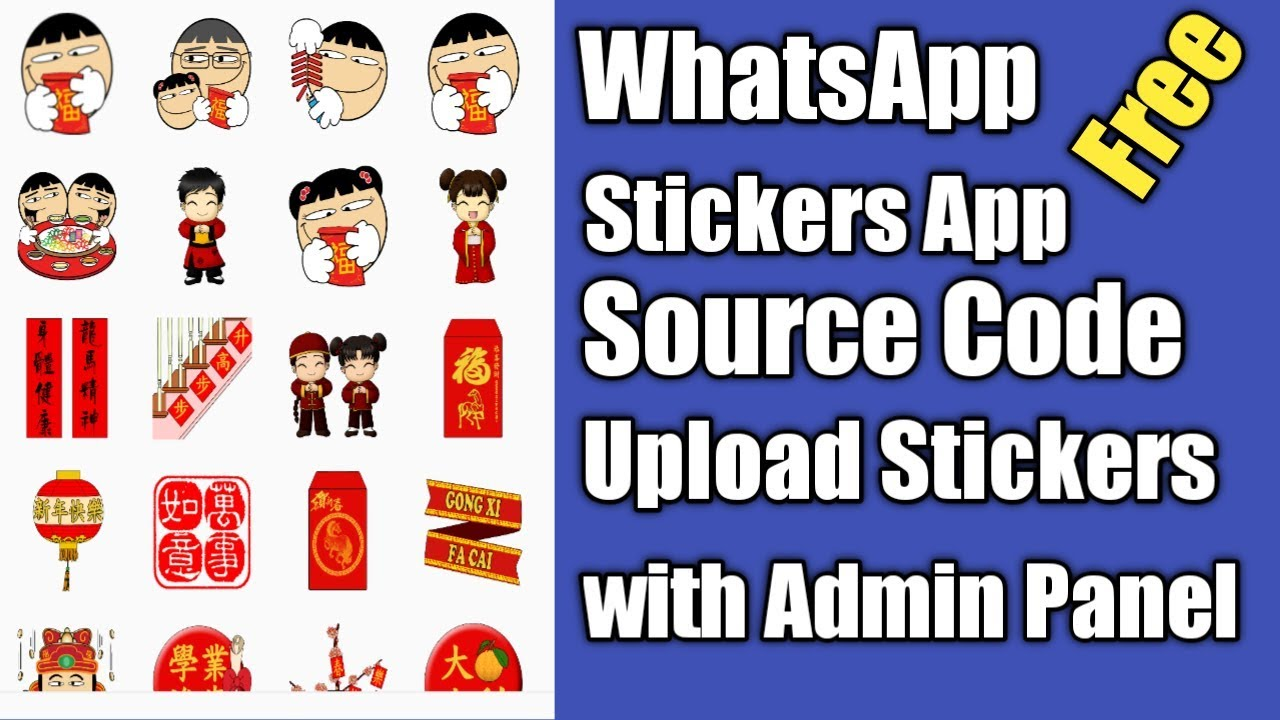WhatsApp Sticker app Source Code with Admin Panel - android studio