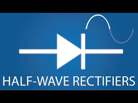 Half-Wave vs Full-Wave Rectifiers - Electronics Basics 19
