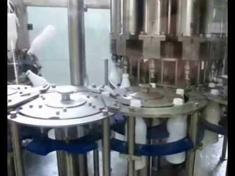 Линия розлива в ПЭТ тару 3000 бут./час ASG