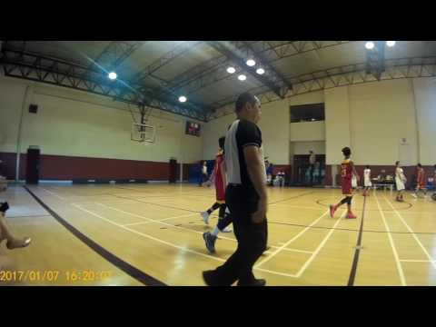 Southridge Mini Midgets vs CSA Binan LSMS Basketball Game (7 Jan 2017)