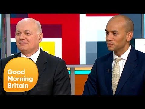 Iain Duncan Smith and Chuka Umunna React to the PM's Historic Defeat | Good Morning Britain
