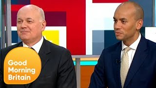 Iain Duncan Smith and Chuka Umunna React to the PM's Historic Defeat | Good Morning Britain