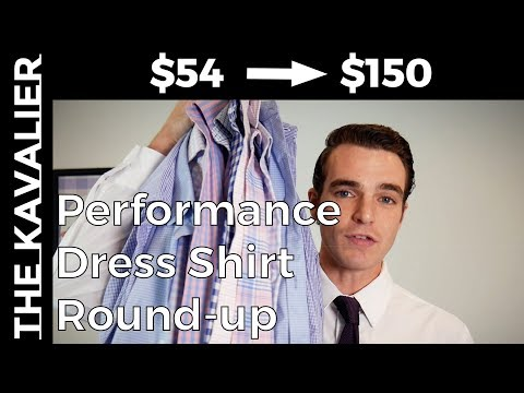 Performance Dress Shirt Round-Up - Mizzen And Main Vs State & Liberty Vs Bluffworks & More