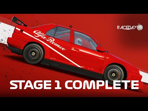 Real Racing 3 - Race Day: Vintage Stage 1 Complete