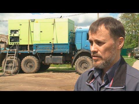На фото Сергиево-Посадская электросеть не оставила Мостовик без напряжения изображение