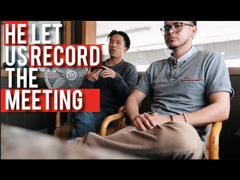 HOW TO GET CLIENTS.! footage of meeting with clients.