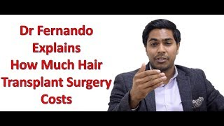 How much does a hair transplant cost thumbnail