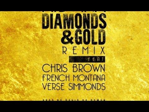 Kid Ink - Diamonds & Gold (Remix) Feat. Chris Brown, French Montana & Verse Simmonds