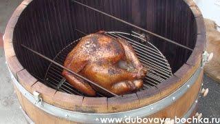 Самодельная коптильня для мяса. Сделана своими руками, горячее домашнее копчение курицы Ч.2(Самодельная коптильня для мяса, видео. Сделана своими руками из металла-в этом видео я расскажу вам как..., 2015-10-08T16:35:46.000Z)