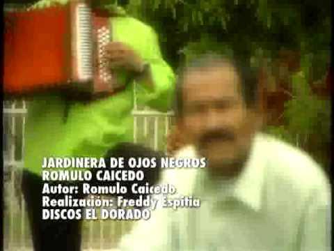 Jardinera de Ojos Negros - Romulo Caicedo