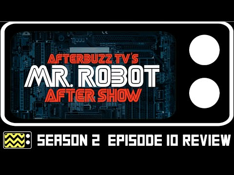 Mr. Robot Season 2 Episode 10 Review & After Show w/ Jeremy Holm | AfterBuzz TV