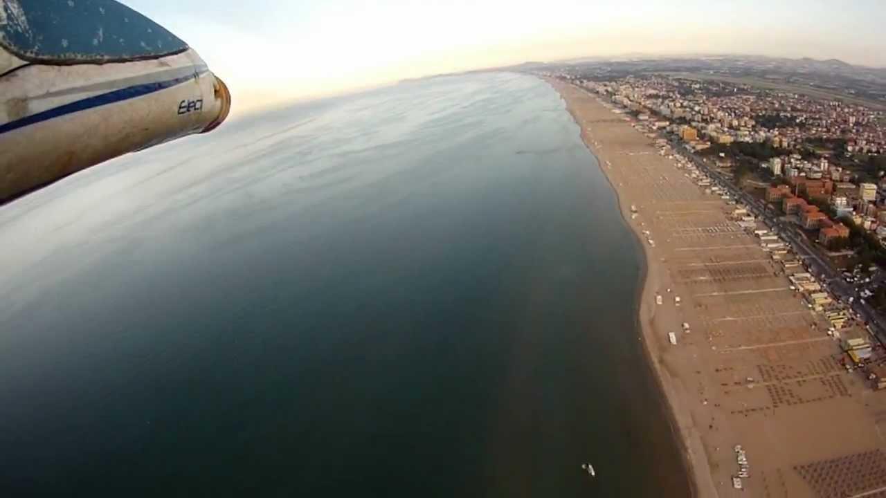 Rimini Onboard Esy Glider Sopra Bagno 85 Luca Dea Youtube