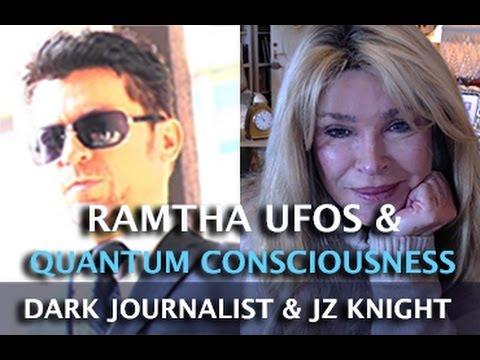 DARK JOURNALIST & JZ KNIGHT - RAMTHA UFOS DNA & QUANTUM CONSCIOUSNESS