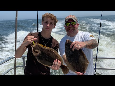7/5/20- Deep Sea Fluke Fishing New Jersey