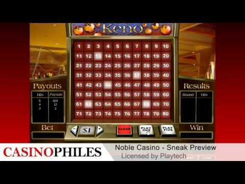 Noble Casino Sneak Preview - Casinophiles.com