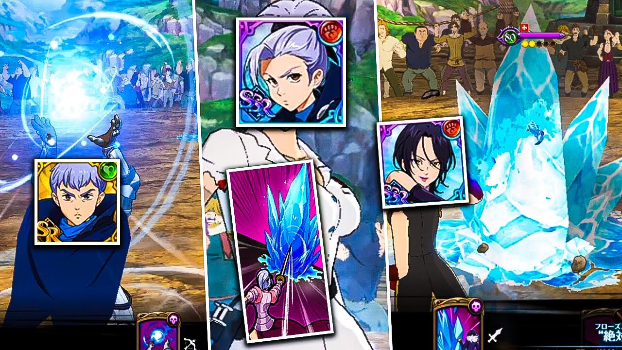 Download TRIPLE FREEZE TEAM IS BROKEN!! THEY CANT MOVE LMAO | Seven Deadly Sins: Grand Cross