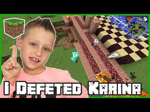 Minecraft Challenge Games / Ronald Defeated Karina