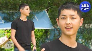 SBS [한밤의TV연예] - 가는..구나.. 송중기 입…
