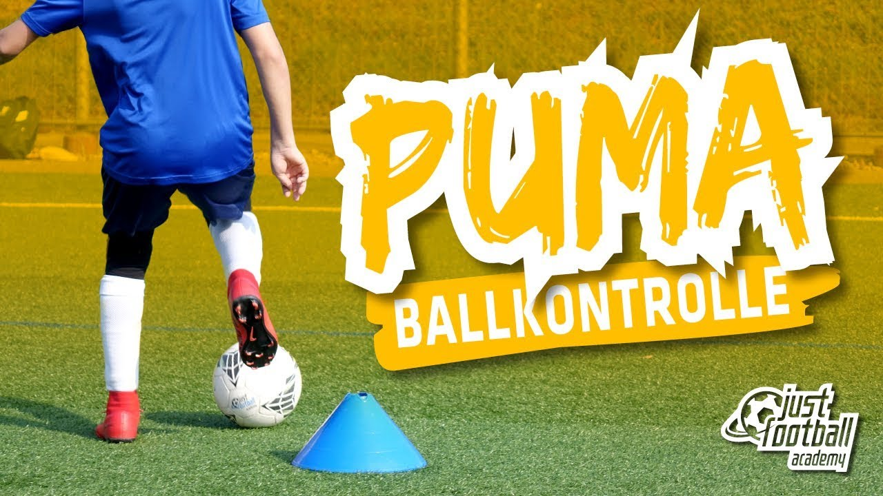 Football Training Puma Ball Control Technique