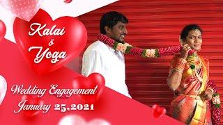 Kalai & Yoga Wedding Engagement | Jan 25,2021 | Madurai