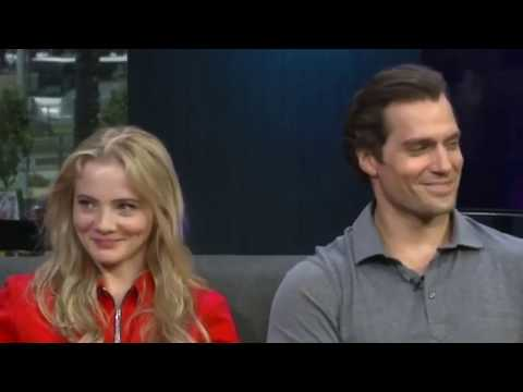 Henry Cavill  flirt with Freya Allan? -  Interview The Witcher