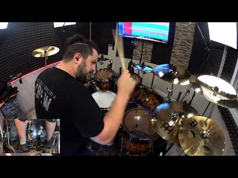 CHILDRAIN - The valley of Hope (Drum Playthrough)