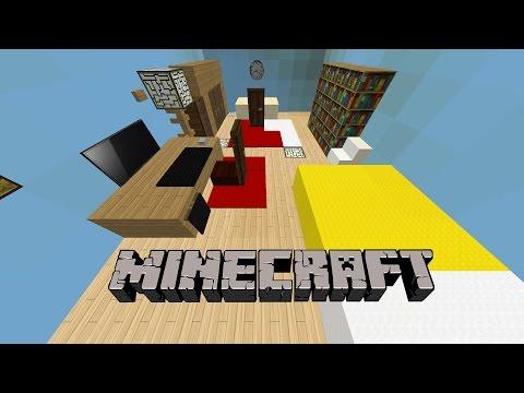 GERÇEK HAYATTAKİ ODAMI YAPTIM   Minecraft