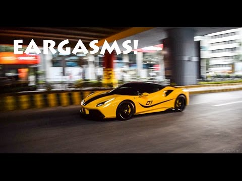 BEST SUPERCAR SOUNDS 2016 - TUNNELS (SUPERCARS IN BANGALORE)