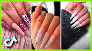 Amazing Long Nails Acrylic Tutorial | Nail Art 2021 | TikTok Compilation