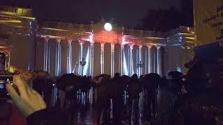 Одесса. Световое шоу 24 декабря