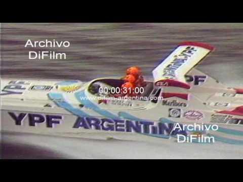 Daniel Scioli gana Campeonato Mundial de Offshore 1991