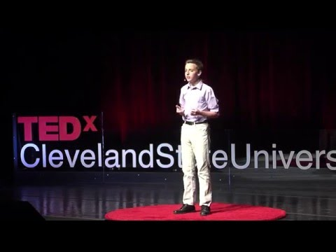 Stopping loneliness in the elderly with letters | Jacob Cramer | TEDxClevelandStateUniversity