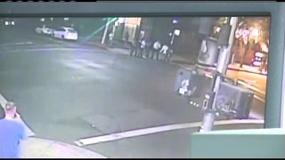 Raw Video: France Hero Airman Stabbed In Fight Outside Sacramento Bar