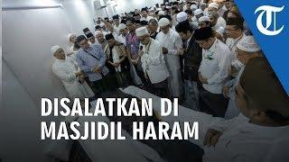 VIDEO: Detik-detik Jenazah Mbah Moen Disalatkan di Masjidil Haram