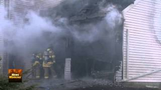Attached Garage Fire, Hanover Twp., PA