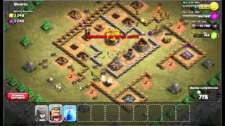 clash of clans: prima difesa aerea al 6