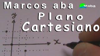 PLANO CARTESIANO - Gráfico ( eixo x / eixo y ) Abscissas e Ordenadas ( Geometria Analítica )