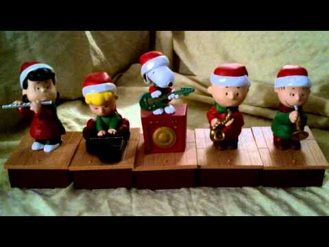 Peanuts Christmas Band from Hallmark