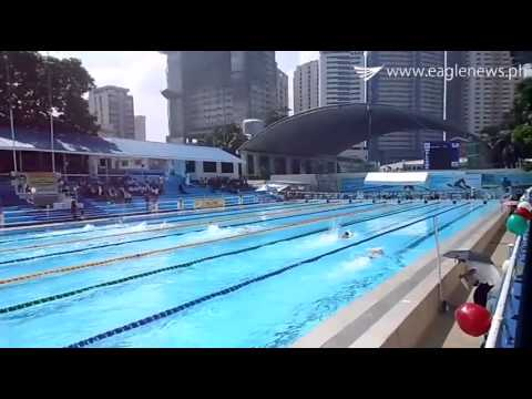 Unity Games International 2015 - Swimming - Men division (Rizal Memorial Stadium)