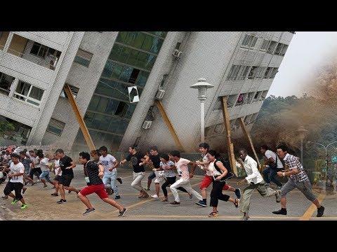 Bu Unutulmaz 10 Deprem Anı Kameralara Yakalandı!