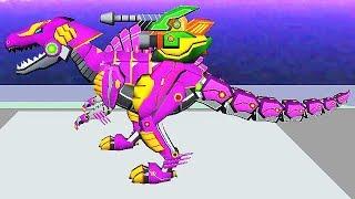Dinosaur Robot Wars 3D: Spinosaurus Gameplay | Eftsei Gaming
