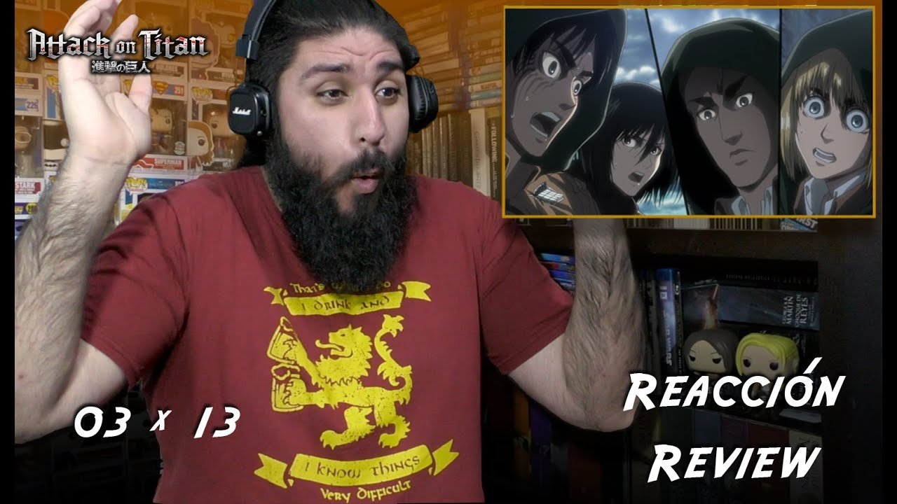 """Attack On Titan 3x13: """"The Town Where Everything Began"""" - Reacción y Review"""