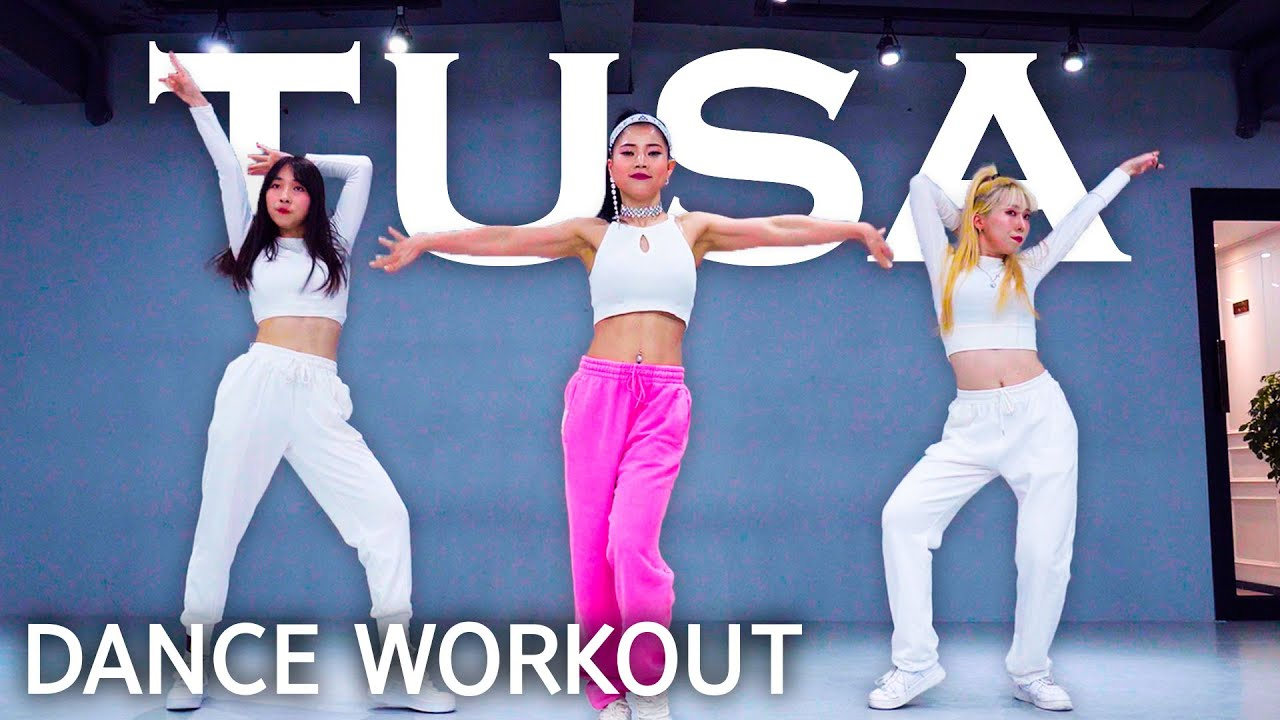 [Dance Workout] KAROL G, Nicki Minaj - Tusa | MYLEE Cardio Dance Workout, Dance Fitness