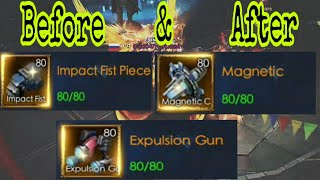 Activate 3 of mecha weapons - Spend 40.K  and unexpected results ✌ | Legacy of discord