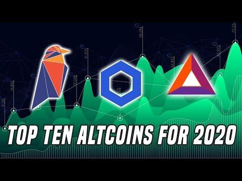 Top Ten Coins To Watch In 2020