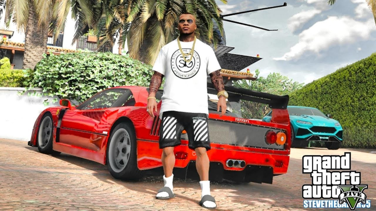 GTA 5 REAL LIFE MOD #641 - NEW BEACH HOUSE AND MICHAEL'S CRIB (GTA 5 REAL LIFE MODS) 4K