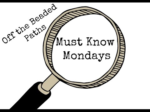 Must Know Monday (7/18/16) Bead Crochet (Basic Tools Needed)