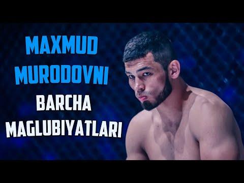 MAXMUD MURODOVNING BARCHA MAGLUBIYATLARI / MAXMUD UFC