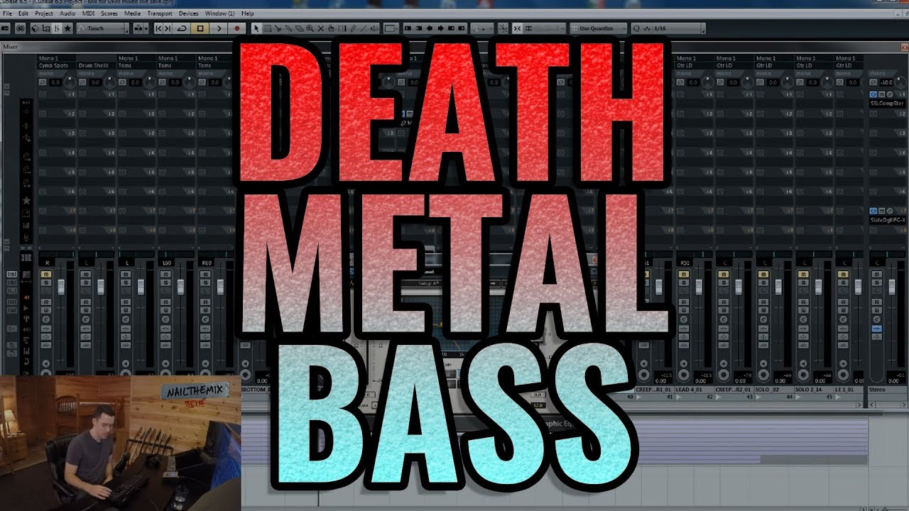 Dialing in a death metal bass tone - Nail The Mix preview